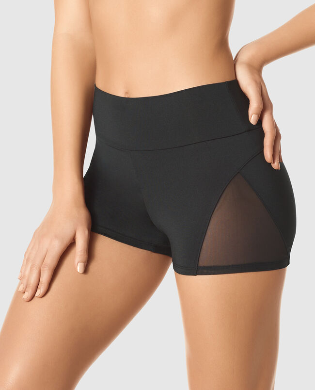 Booty Short with Mesh
