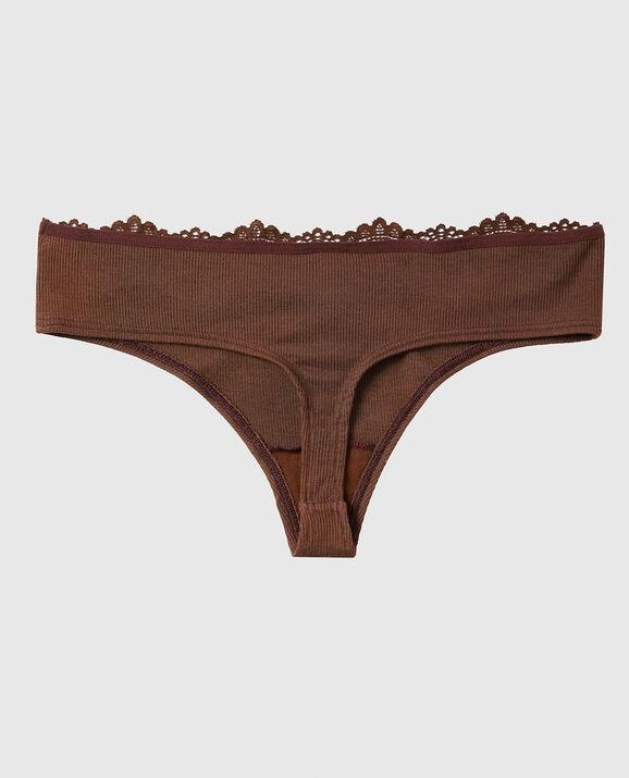 Ribbed Thong Panty Chocolate Cake 2