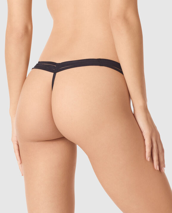 G-String Panty Smoulder Black 2