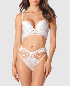Push Up Bra Ivory 1