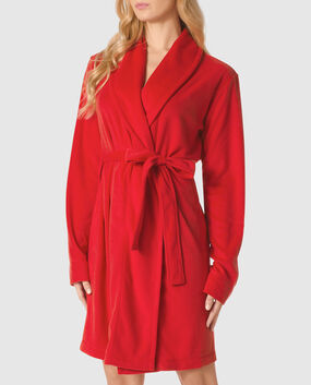 Cozy Robe Crimson 1