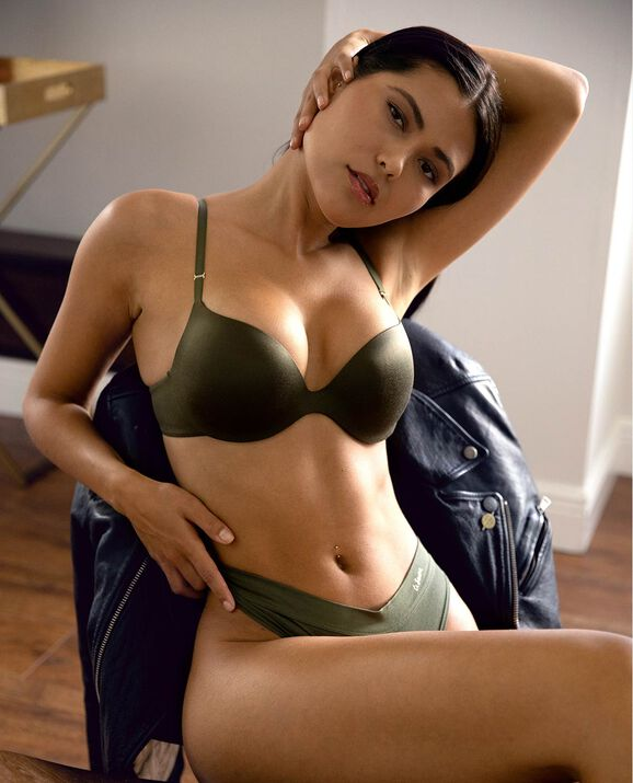 Push Up Bra Olive Night 1