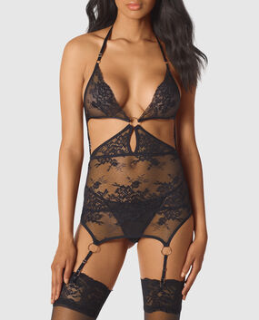 Unlined Lace Merrywidow