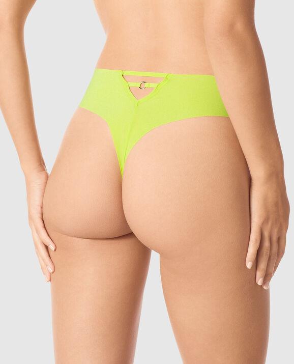 High Waist Thong Panty Limelight 2