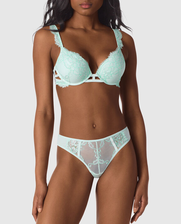 Up 2 Cup Push Up Bra Beach Glass 1