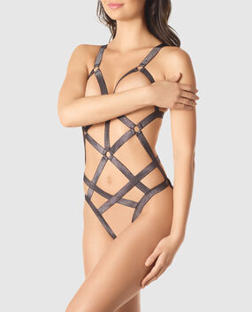 Strappy Barely-There Bodysuit