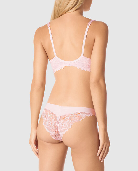 Lightly Lined Balconette Bra Pale Lilac 2