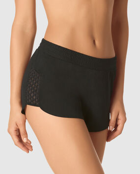 Short with Fishnet Side