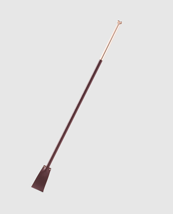 Riding Crop Dark Brandy 1
