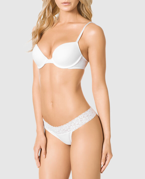 Push Up Bra White 1