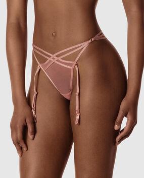 Strappy G-String Garter Panty