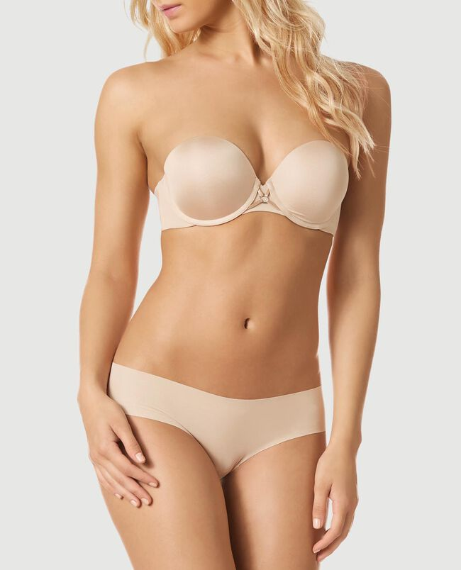 Strapless Up 2 Cup Push Up Bra