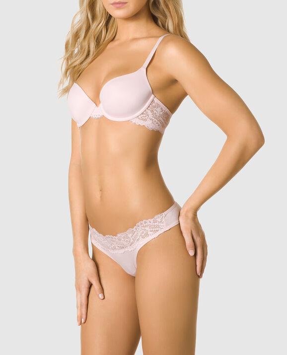 35135169461 Chic Lace Lightly Lined Demi Bra - Sexy Tease   La Senza