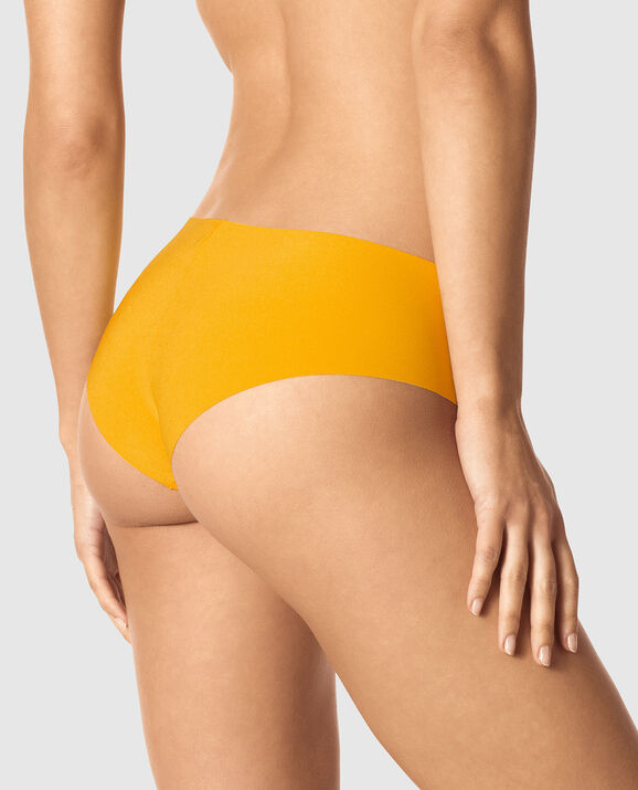 Brazilian Panty Bright Saffron 2