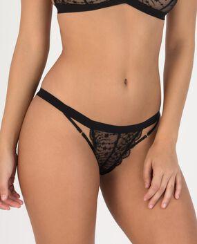 Nadia Bikini Panty Smoulder Black 1