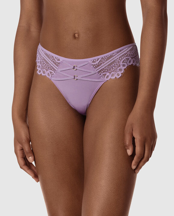 Thong Panty Charmed Violet 1