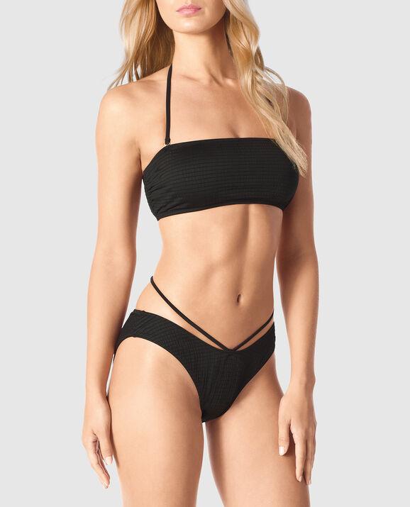 Bandeau Bikini Top Nero Black 1