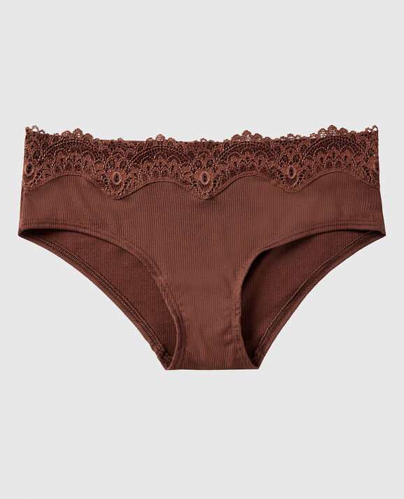 Ribbed Hipster Panty Chocolate Cake 1