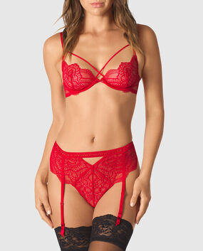Unlined Lace Bra