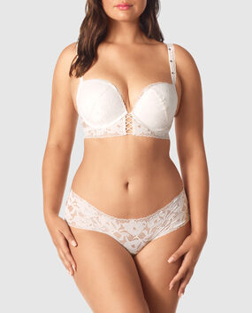 Push Up Bra Coconut White 1