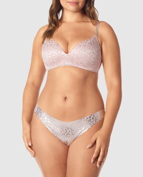 Light Push Up Wireless Bra Lavender Stone 1