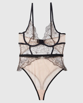 Unlined Lace Bodysuit Sugar Baby 1