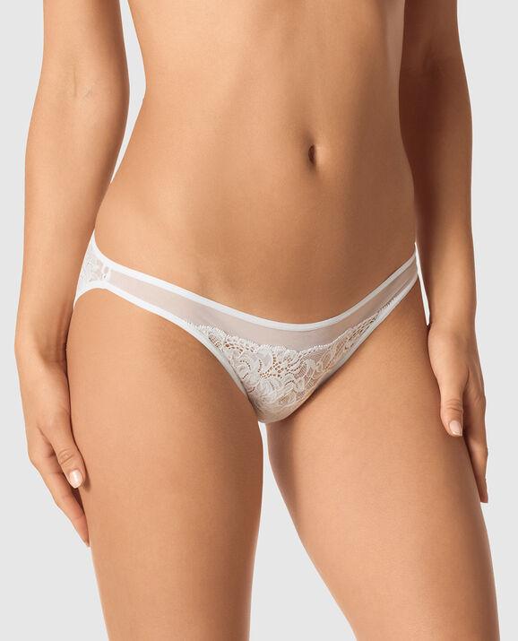 Bumless Bikini Panty White 1