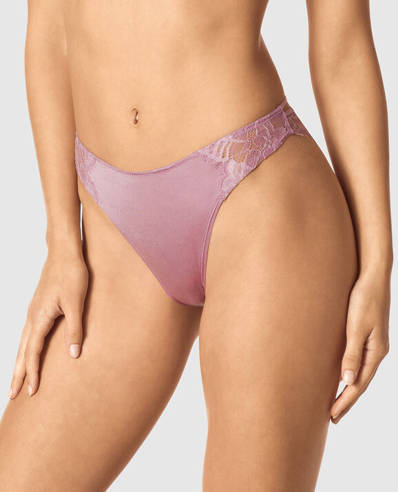 Cheeky Panty Soft Mauve 1