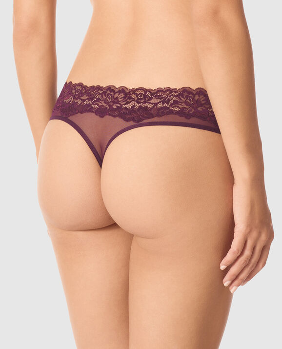 Thong Panty Ruby Wine 2