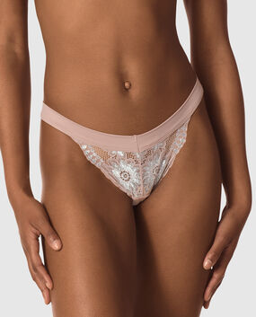 Thong Panty Powder Blush 1
