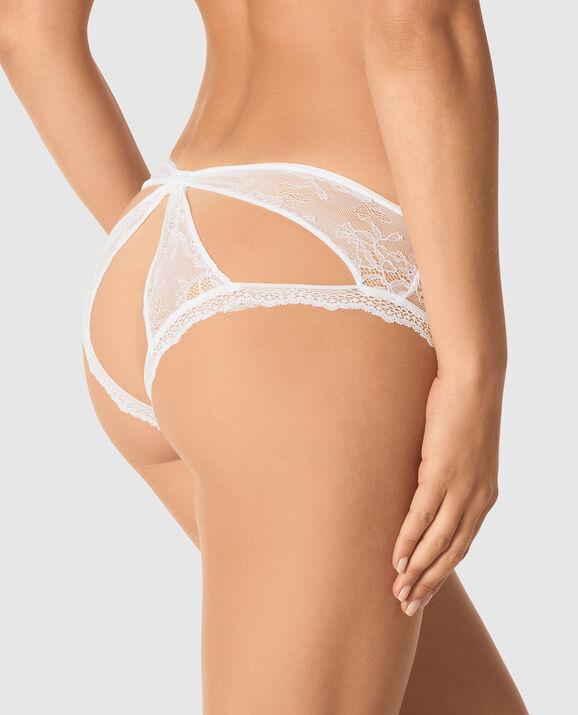 Bumless Brazilian Panty White 2