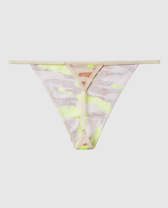G-String Panty Electro and Nude Camo 2