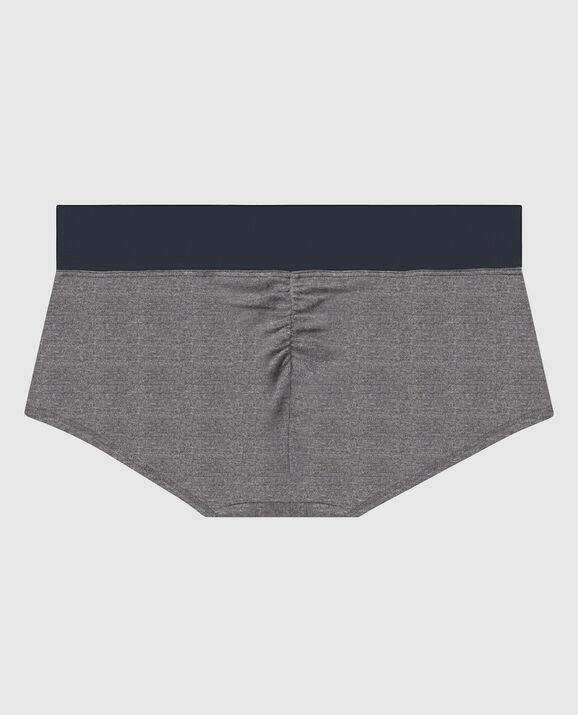 Boyshort Panty Grey 2