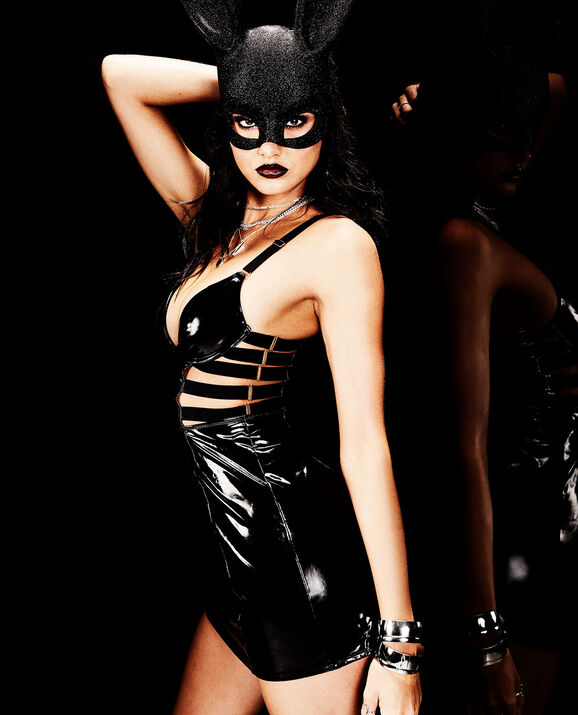 Slip Dress Smoulder Black 2