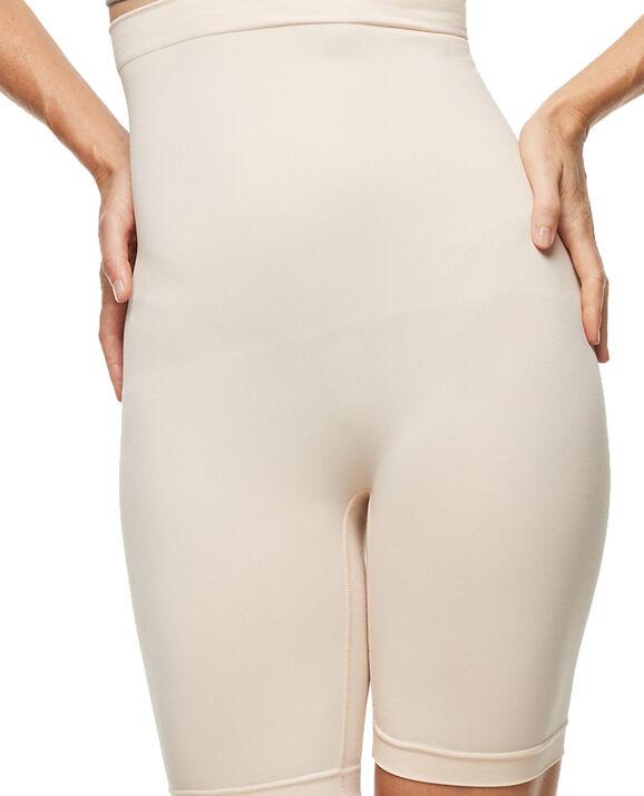 Seamless High Waist Thigh Shaper Rose Tan 1