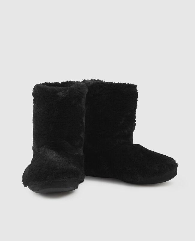 Faux Fur Booties
