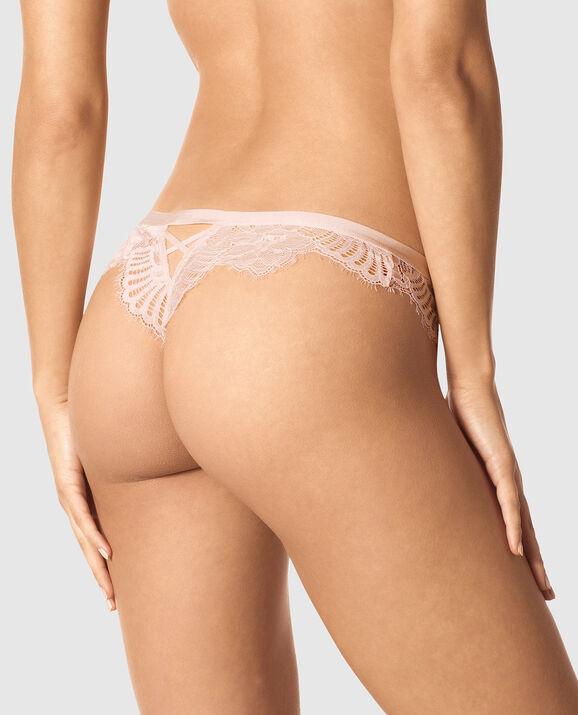 Thong Panty Pink Morganite 2