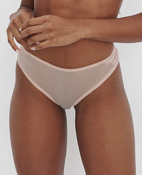 Primose Thong Panty Blush Pink 2