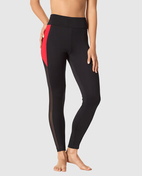 Legging with Mesh Sides
