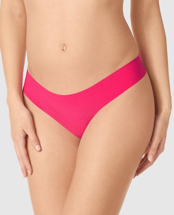 Thong Panty Plumeria Pink 1
