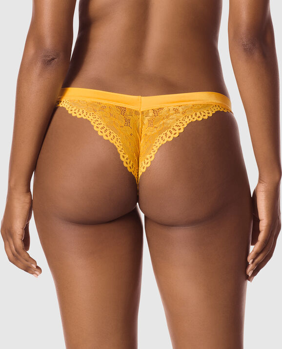 Cheeky Panty Yellow Dawn 2