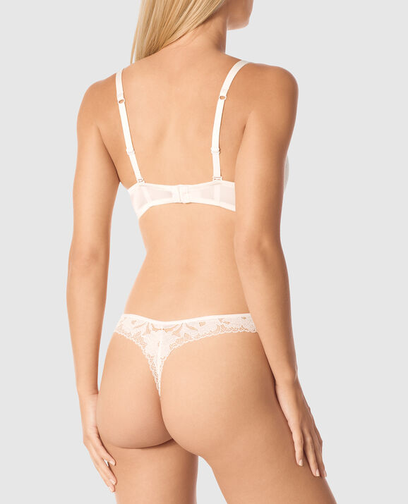 Lightly Lined Full Coverage Bra Coconut White 2