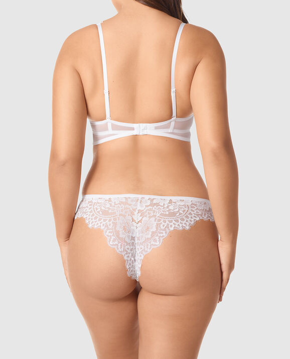 Up 2 Cup Push Up Bra White 2