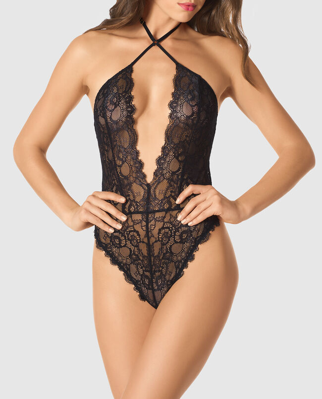 Sexy Bumless Lace Bodysuit