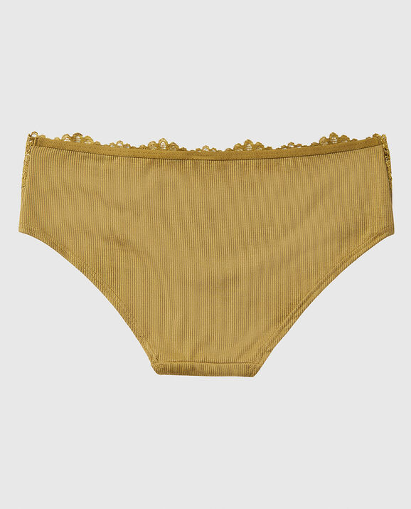 Ribbed Hipster Panty Ancient Bronze 2