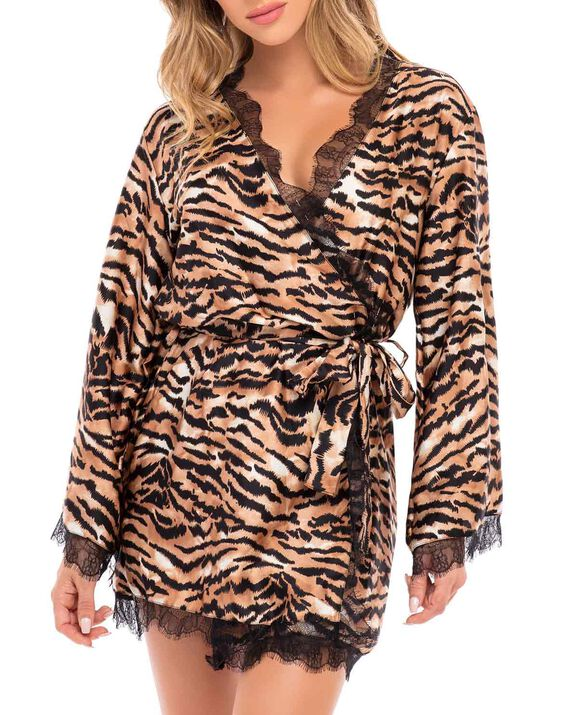 Satin Kimono Tiger 1