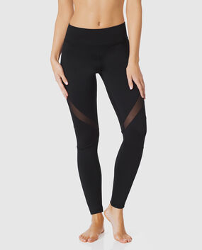 Workout Legging with Mesh
