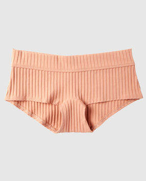 Ribbed Boyshort Panty