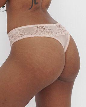 Primose Thong Panty Blush Pink 1