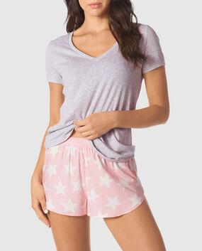 Shorty Pajama Set